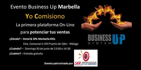 Evento Business Up Marbella tickets