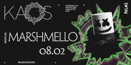 8.2 Marshmello @ KAOS Nightclub Las Vegas