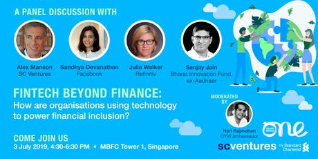 One Young World & Standard Chartered: FinTech beyond Finance tickets