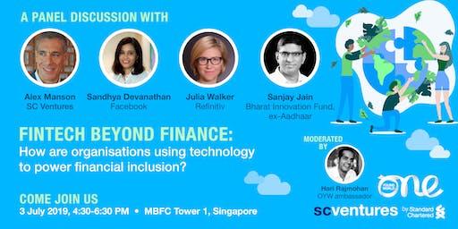 One Young World & Standard Chartered: FinTech beyond Finance