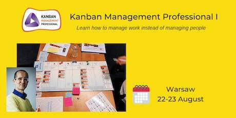 Kanban Management Professional I tickets