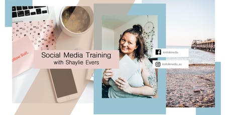 JULY Training with Social Media Coach Shaylie Evers tickets