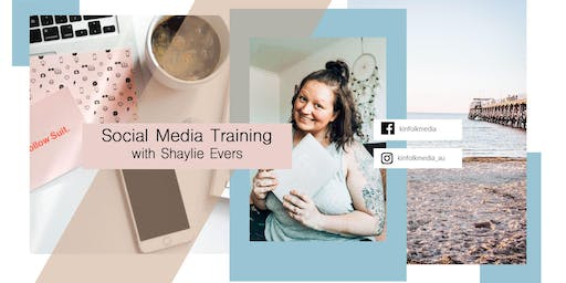 JULY Training with Social Media Coach Shaylie Evers