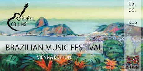 Brazil Calling - Brazilian Music Festival Tickets