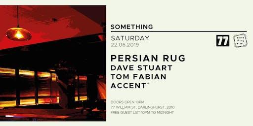 Something Else: Persian Rug