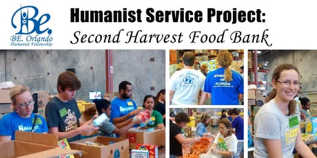 Humanist Group Donation Sorting at Second Harvest Food Bank tickets