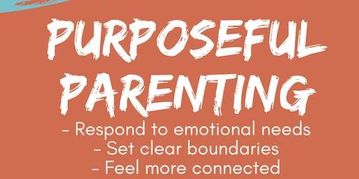 Purposeful parenting seminar