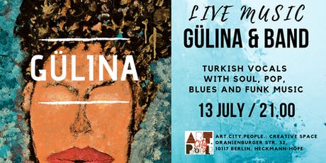 GÜLINA & Band: turkish vocals with soul, pop, blues and funk music tickets