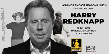 Lashings End of Season Lunch with Harry Redknapp tickets