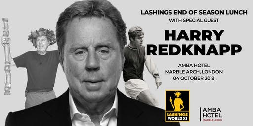 Lashings End of Season Lunch with Harry Redknapp
