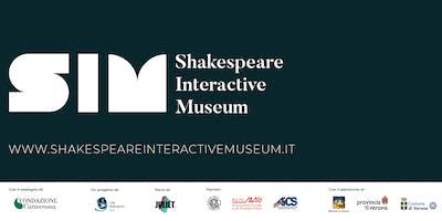 GIUGNO 2019 - Shakespeare Interactive Museum - ITALIAN performance