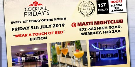 Cocktail Fridays (Touch of Red)  tickets