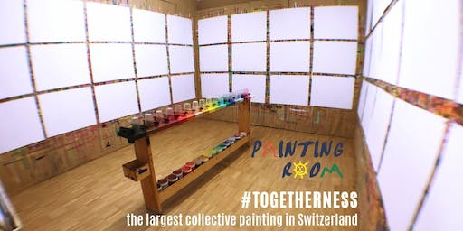 #togetherness - Largest collective painting in Switzerland