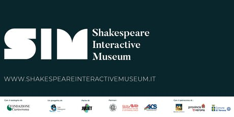 JULY 2019 - Shakespeare Interactive Museum - ENGLISH performance tickets