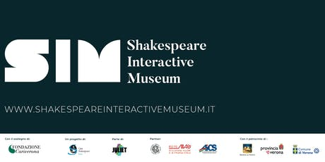 AUGUST 2019 - Shakespeare Interactive Museum - ENGLISH performance biglietti