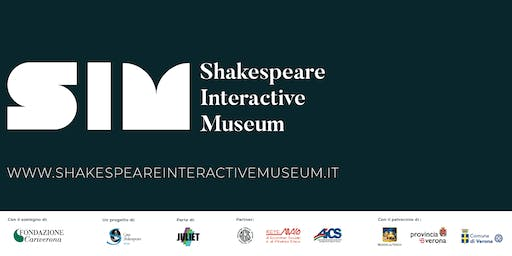 AUGUST 2019 - Shakespeare Interactive Museum - ENGLISH performance