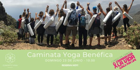 Caminata Yoga Benéfica entradas