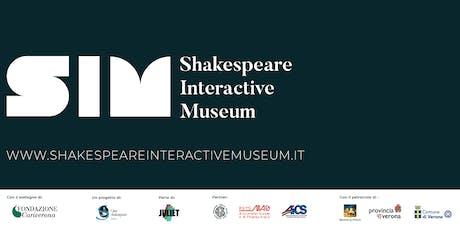 SETTEMBRE 2019 - Shakespeare Interactive Museum - ITALIAN performance biglietti