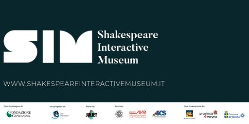 SETTEMBRE 2019 - Shakespeare Interactive Museum - ITALIAN performance