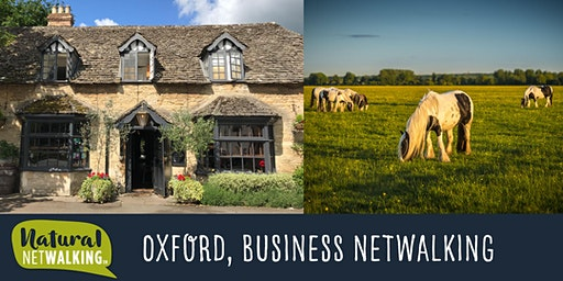 Natural Netwalking in Oxford. Wednesday 18th December, 9.30am -11.30am