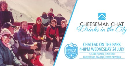 Cheeseman Chat - Drinks in the City tickets