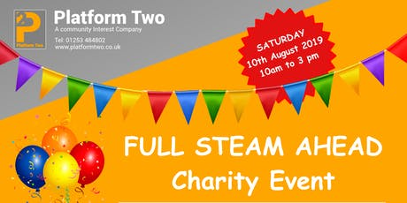 Full Steam Ahead - Charity Event tickets