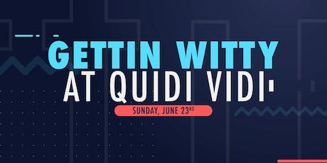 Gettin' Witty at Quidi Vidi - With Bree Parsons  tickets