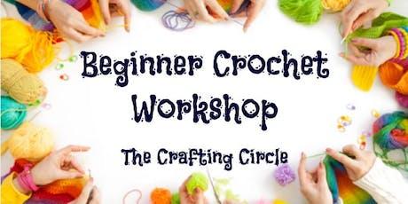 Beginner Crochet Workshop tickets