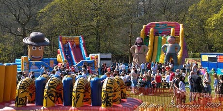 Manor Heath Park Inflatable Fun Weekend tickets