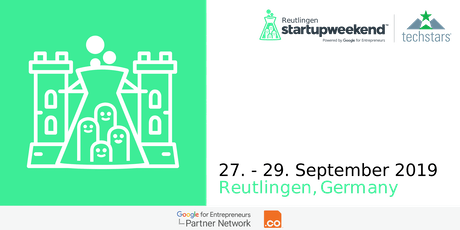 Techstars Startup Weekend Reutlingen 09/19 tickets