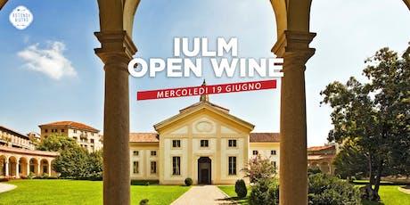 IULM Open Wine alla Rotonda della Besana! biglietti