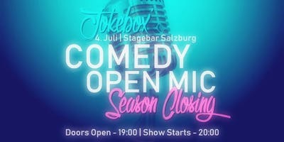 Jokebox' Comedy Open Mic | Season Closing