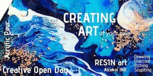 Creating Art - Sunday 23rd June