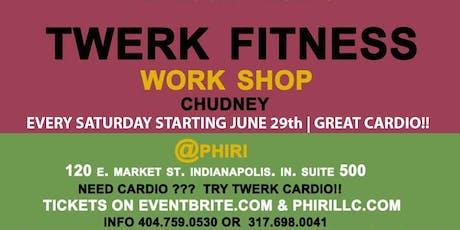 TWERK Fitness: Dance classes every saturday starting / JUNE 29th tickets