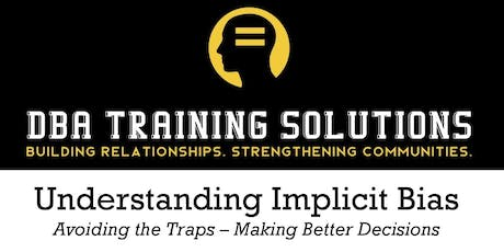 CEIR Implicit Bias Training 8/6/19 tickets