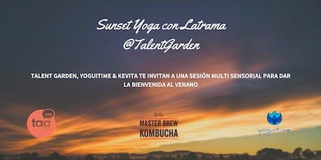 Sunset Yoga con Latrama @TalentGarden entradas