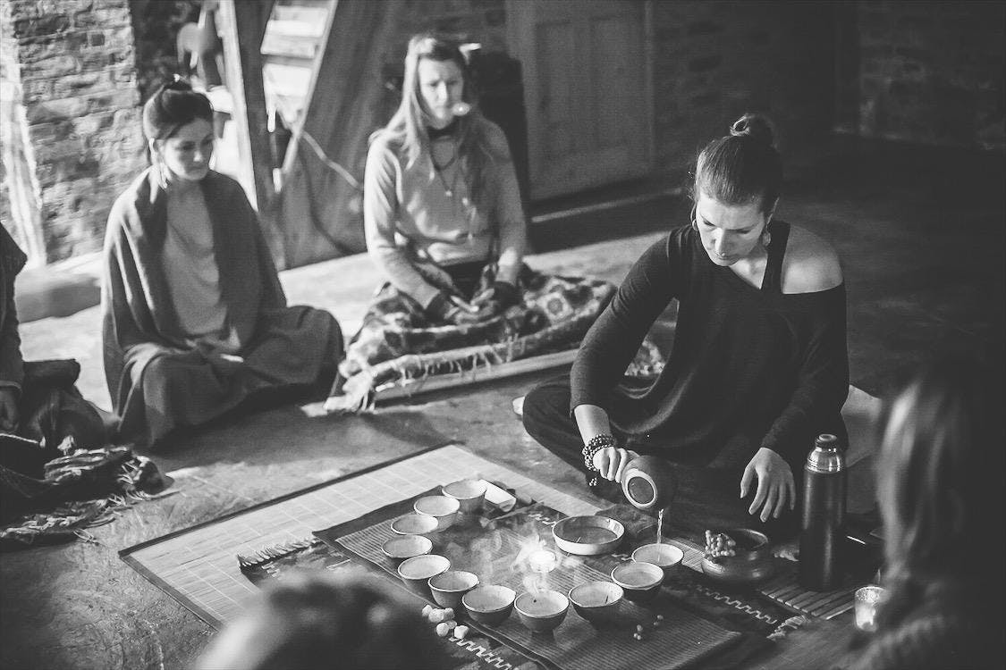 FULL MOON TEA CEREMONY, HEALING and WOMEN'S CIRCLE - August