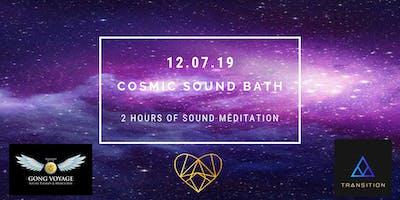 Cosmic Sound Bath