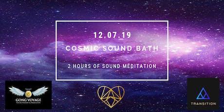 Cosmic Sound Bath tickets