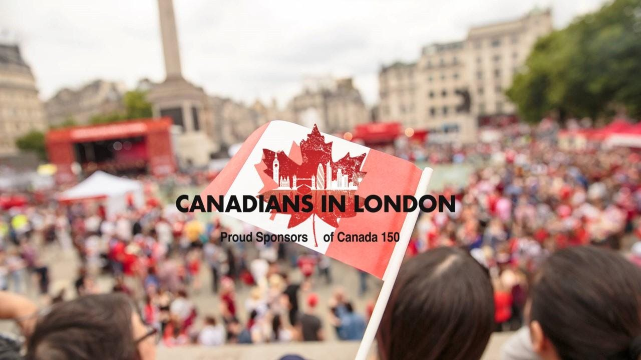 Canadians in London Canada Day Party