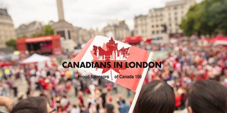Canadians in London Canada Day Party tickets