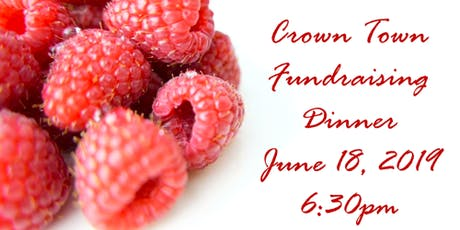 Raspberry Royalty Crown Town Dinner tickets