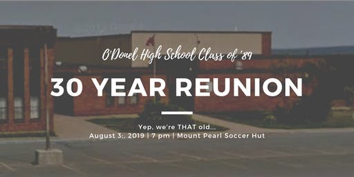 O'Donel High 30-Year Reunion