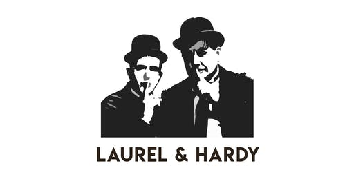 Laurel and Hardy with Live Music