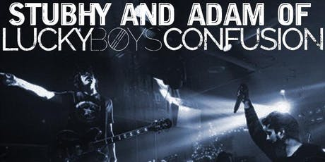 Stubhy & Adam from Lucky Boys Confusion tickets