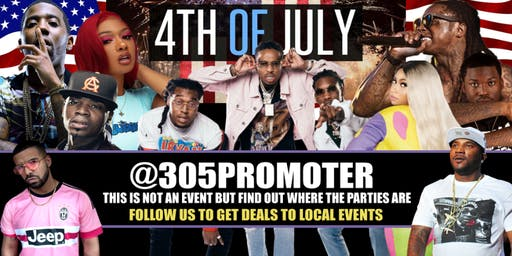 Miami Independence Day - 4th of July Hip Hop Parties