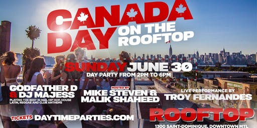 Canada Day Party on the Rooftop