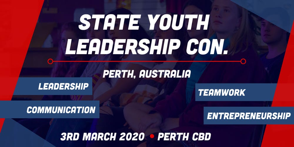 Perth Youth Leadership Conference 2020 Tickets, Tue 03/03/2020 at 9