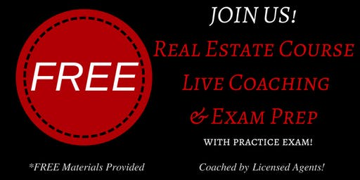 Keller Williams Realty's: FREE Live Real Estate Coaching & Exam Prep