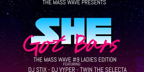 THE MASS WAVE 9 tickets